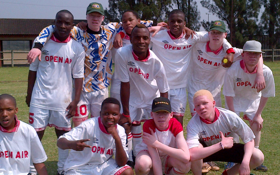 OAS soccer team played in an inter-schools soccer tournament