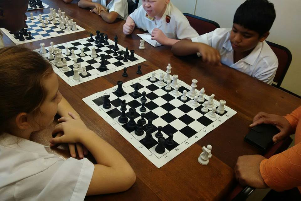 Inter-house Chess Tournaments 2015