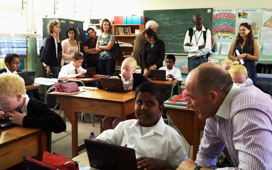 International Delegates visit to Open Air School