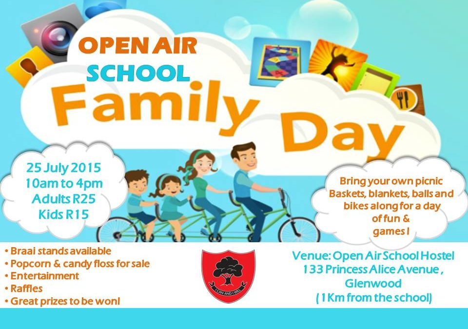 Open Air School Presents Our 1st EVER Family Day! – 2015