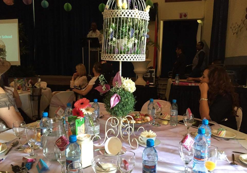 The OAS Fundraising Team Hosted a Successful Mother's Day High Tea – 2015