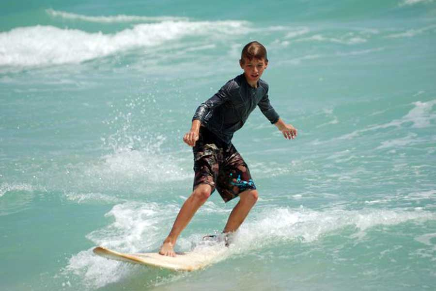 KZN's First Blind and Disabled Surf Competition
