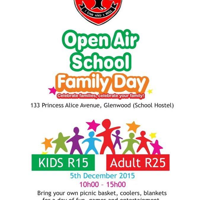 Open Air School Family Day – 5th December 2015