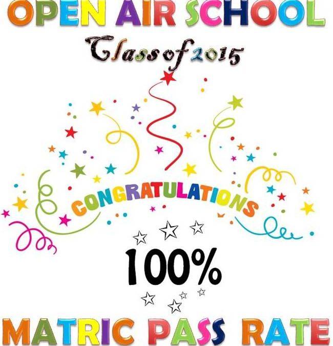 Congratulations Matric Class of 2016 – 100% Pass