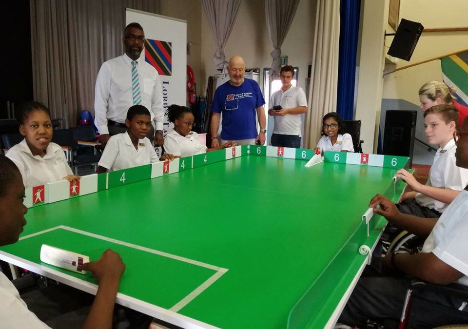 Table Cricket has arrived at Open Air School