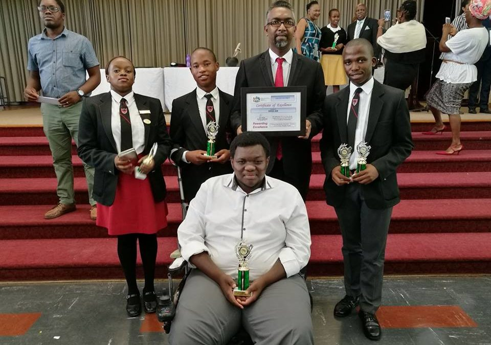 Open Air School Matric Class of 2016 have claimed all 5 of the top 5 positions for LSEN schools in the Umlazi District