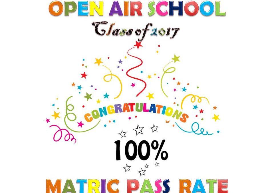 Class of 2017 Acheive 100% Pass