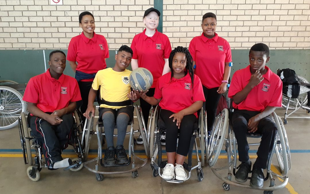 WHEELCHAIR BASKETBALL – KZN U19 SELECTIONS