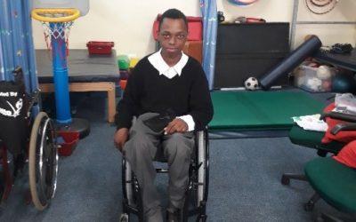 CE MOBILITY WHEELCHAIR DONATION – THABISO SHEZI
