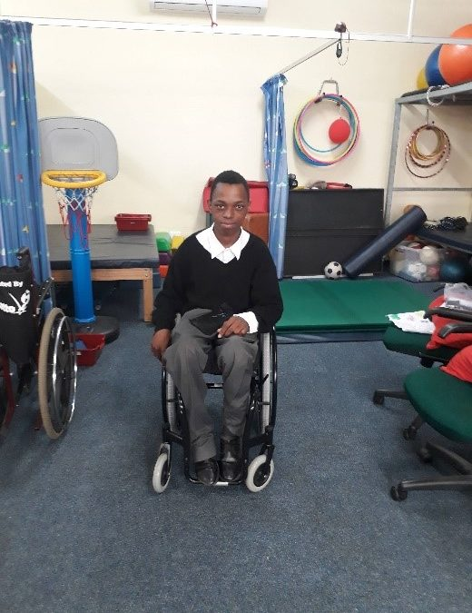 CE MOBILITY WHEELCHAIR DONATION – THABISO SHEZI
