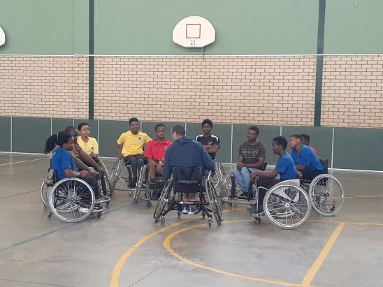 WHEELCHAIR BASKETBALL COACHING WORKSHOP WITH USA COACH